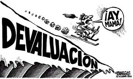 Le peso argentin dévalue !
