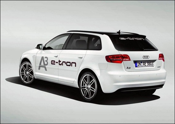 Audi A3 e-tron cola