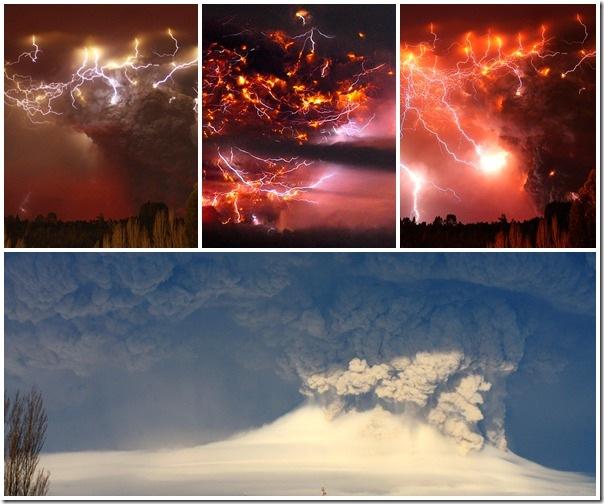 Puyehue en erupción 2011