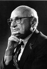 Milton Friedman (1912-2006). Premio Nobel de Economía 1976.