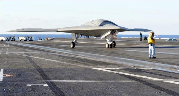 X-47B de Northrop Grumman