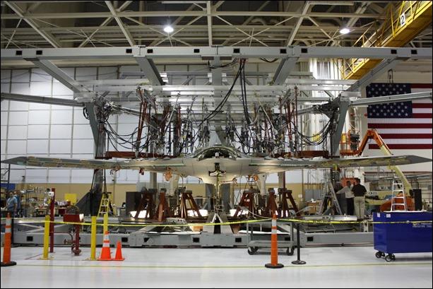 Armado del X-47B